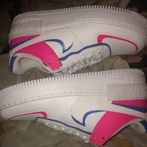 "Nike Shoes - Air force 1 shadow ""cotton candy """